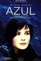 Trois couleurs: Bleu - Spanish Movie Poster (xs thumbnail)