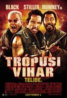 Tropic Thunder - Hungarian Movie Poster (xs thumbnail)