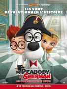 Mr. Peabody & Sherman - French Movie Poster (xs thumbnail)