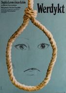 Verdict - Polish Movie Poster (xs thumbnail)