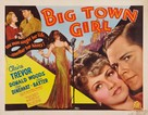 Big Town Girl - Movie Poster (xs thumbnail)