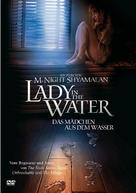 Lady In The Water - German DVD cover (xs thumbnail)