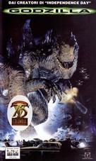 Godzilla - Italian VHS cover (xs thumbnail)