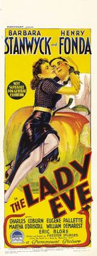 The Lady Eve - Australian Theatrical movie poster (xs thumbnail)