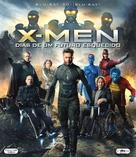 X-Men: Days of Future Past - Brazilian Blu-Ray movie cover (xs thumbnail)
