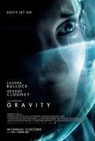 Gravity - Singaporean Movie Poster (xs thumbnail)