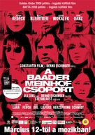 Der Baader Meinhof Komplex - Hungarian Movie Poster (xs thumbnail)