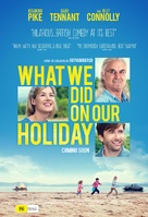 What We Did on Our Holiday - Australian Movie Poster (xs thumbnail)