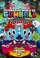 """The Amazing World of Gumball"" - Thai DVD movie cover (xs thumbnail)"