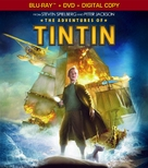 The Adventures of Tintin: The Secret of the Unicorn - Blu-Ray cover (xs thumbnail)