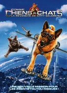 Cats & Dogs: The Revenge of Kitty Galore - French DVD movie cover (xs thumbnail)