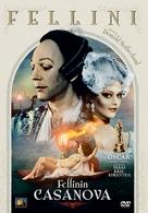 Il Casanova di Federico Fellini - Finnish DVD movie cover (xs thumbnail)
