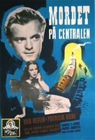 Grand Central Murder - Swedish Movie Poster (xs thumbnail)