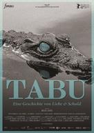 Tabu - German Movie Poster (xs thumbnail)