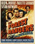 The Forest Rangers - Movie Poster (xs thumbnail)