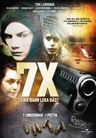7X: Lika barn leka bäst - Swedish DVD cover (xs thumbnail)
