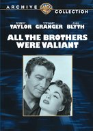 All the Brothers Were Valiant - DVD cover (xs thumbnail)