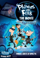 Phineas and Ferb: Across the Second Dimension - Movie Poster (xs thumbnail)