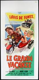 Les grandes vacances - Italian Movie Poster (xs thumbnail)