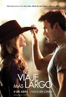 The Longest Ride - Argentinian Movie Poster (xs thumbnail)