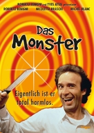 Il mostro - German DVD cover (xs thumbnail)