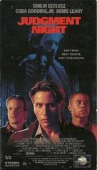 Judgment Night - VHS cover (xs thumbnail)