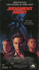 Judgment Night - VHS movie cover (xs thumbnail)