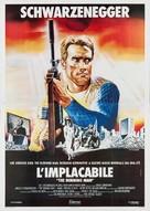 The Running Man - Italian Movie Poster (xs thumbnail)