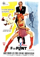 In Like Flint - Spanish Movie Poster (xs thumbnail)