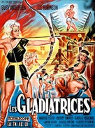 Le gladiatrici - French Movie Poster (xs thumbnail)