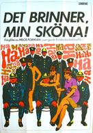 Horí, má panenko - Swedish Movie Poster (xs thumbnail)