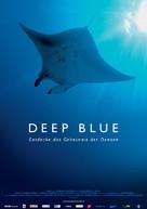 Deep Blue - German Movie Poster (xs thumbnail)