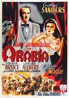 Action in Arabia - Spanish Movie Poster (xs thumbnail)