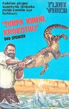 Piedone d'Egitto - Finnish VHS movie cover (xs thumbnail)