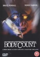 Camping del terrore - British DVD cover (xs thumbnail)
