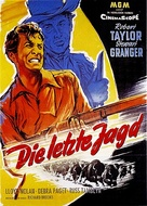 The Last Hunt - German Movie Poster (xs thumbnail)
