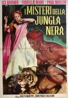 I misteri della giungla nera - Italian Movie Poster (xs thumbnail)