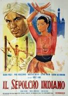 Das iIndische Grabmal - Italian Movie Poster (xs thumbnail)