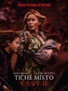 A Quiet Place: Part II - Czech Movie Poster (xs thumbnail)