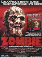 Zombi 2 - Video release poster (xs thumbnail)