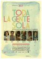 Toda la gente sola - Spanish Movie Poster (xs thumbnail)