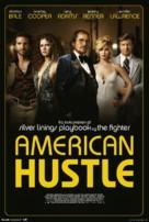 American Hustle - Danish Movie Poster (xs thumbnail)
