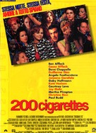 200 Cigarettes - Italian Movie Poster (xs thumbnail)