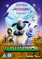 A Shaun the Sheep Movie: Farmageddon - British DVD movie cover (xs thumbnail)