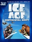 Ice Age: Continental Drift - Blu-Ray cover (xs thumbnail)