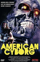 American Cyborg: Steel Warrior - German DVD cover (xs thumbnail)