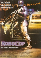 RoboCop - German Movie Poster (xs thumbnail)