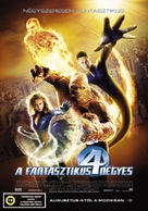 Fantastic Four - Hungarian Movie Poster (xs thumbnail)