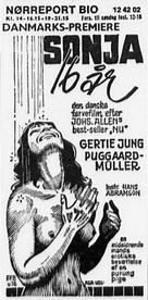 Sonja - 16 år - Danish poster (xs thumbnail)