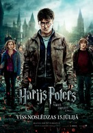 Harry Potter and the Deathly Hallows: Part II - Latvian Movie Poster (xs thumbnail)
